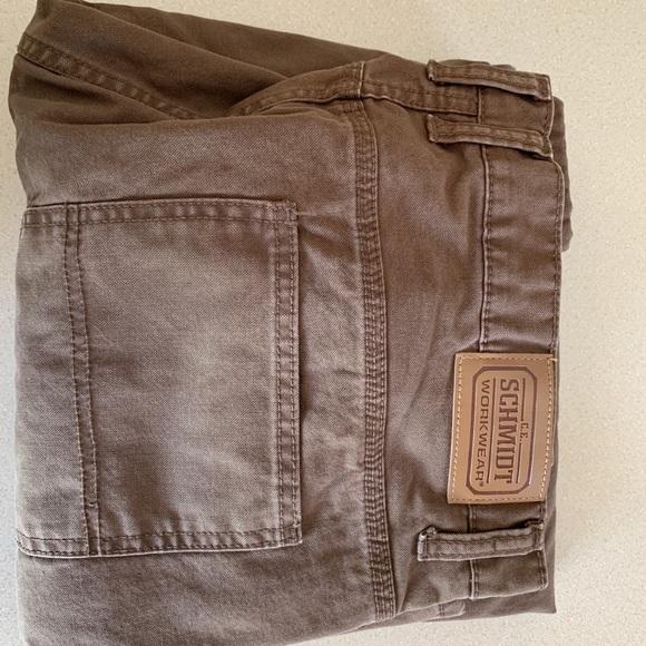 91d95acc72d Men's C.E. Schmidt Flannel Canvas Pants 38x32
